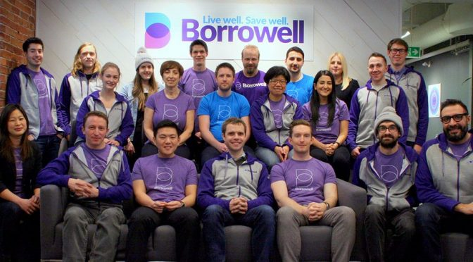 Toronto Financial Tech Borrowell Secures $12m in Funding