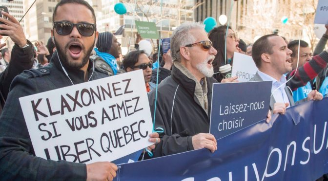 Uber is Leaving Quebec, Say It ain't So