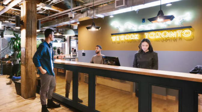 WeWork, coworking startup, to open 20 more Toronto locations