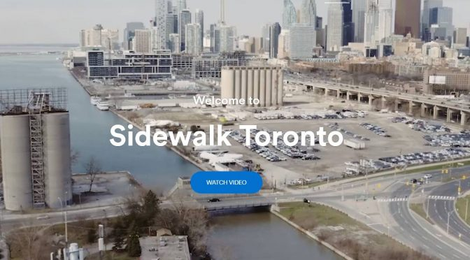 Sidewalk Labs Launches Toronto Office
